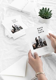 Our Save the Dates with @artifactuprising #ad