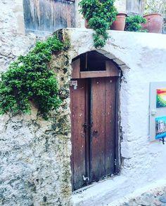 Door Photography Traditional Mediterranean Greek Door Photography Wall Art Brown Door Art Wall Decor Castle Greece Fine Art Giclee or…