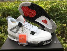 http://www.bejordans.com/big-discount-men-basketball-shoe-air-jordan-4-white-cement-aaaa-301-sksyd.html BIG DISCOUNT MEN BASKETBALL SHOE AIR JORDAN 4 WHITE CEMENT AAAA 301 T6GX4 Only $93.00 , Free Shipping!