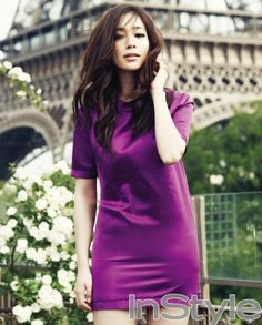 Min Jung in InStyle