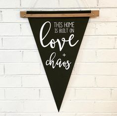 LOVE AND CHAOS PENNANT - Arlo and Co - 1