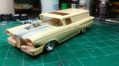 Resin? Edsel Wagon scale model car.