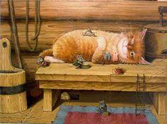 Alexander Maskaev : the Museum Cat 1465108_626045224126888_2041042333_n.jpg 700×524 Pixel