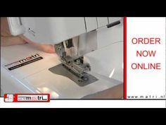 Como poner un Elástico con una remalladora - Matri Maquinas de coser