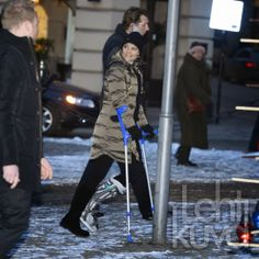 Crown Princess Victoria and Prince Daniel attended the Holocaust memorial event at the Raoul Wallenberg Square in Stockholm. 1/27/2014