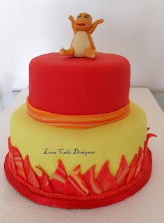Bolos Decorados: Pokemon cake