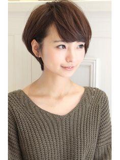 30代・40代に人気の耳かけボブ - 24時間いつでもWEB予約OK!ヘアスタイル10万点以上掲載!お気に入りの髪型、人気のヘアスタイルを探すならKirei Style[キレイスタイル]で。