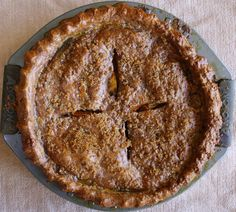 Chocolate Garam Masala Apple-Persimmon Pie | Shikha la mode