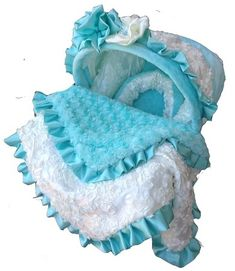 A Tiffany & Baby Carseat Cover