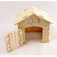 garáž Pankrác, wooden toys, toys, wooden houses, wooden