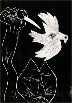 Constant: Guerre - I guess this is sort of Picasso's Guernica meets Picasso's dove of peace. Picasso Dove Of Peace, Picasso Guernica, Modern Art, Contemporary Art, Cobra Art, Carnegie Museum Of Art, Picasso Paintings, Group Art, Art World