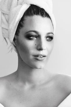 "Blake Lively No. 72 in Mario Testino's ""Towel Series"""