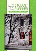 The New York Public Library Student Planner 2013 Calendar: August 2012-august 2013  From Pomegranate (Cal)