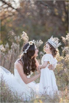 Mother Daughter Photoshoot - Fairytale Tea - Cassandra Castaneda Photography