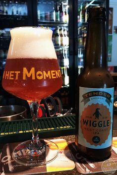 18-Jul-2015 : Wiggle West Coast IPA by Tender Brewery. A nice, citrusy bitterness. Only 5.5% from this new Dutch brewery, brewed at De Molen.