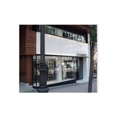 Chanel stores in MADRID ❤ liked on Polyvore