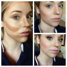Fashion Lookboock: Contouring and Highlighting
