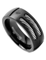Tungsten & Cable Men's Ring.