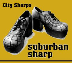 Sharpie platform shoes