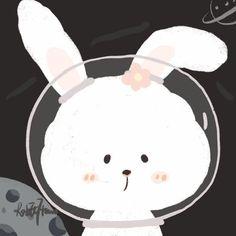 Cute Bunny Cartoon, Cute Cartoon Drawings, Cartoon Art, Nostalgia Art, Avatar Cartoon, Dibujos Cute, Avatar Couple, Couple Cartoon, Cute Doodles