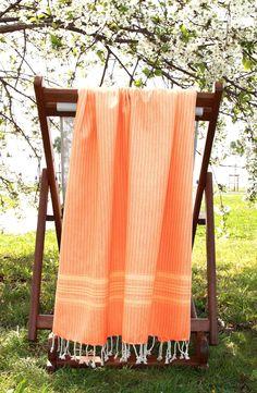 'Luxe Herringbone' Turkish Pestemal Towel