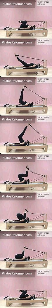 My Favorite - Pilates Reformer Ku . My favorite – Pilates Reformer short spine massage. Pilates Workout Routine, Pilates Reformer Exercises, Pilates Barre, Workouts, Pilates Video, Pilates For Beginners, Pilates Studio, Massage, 30 Day Fitness