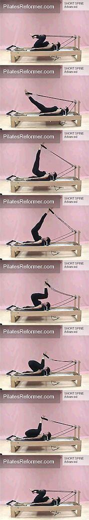Pilates reformer short spine massage. My favorite