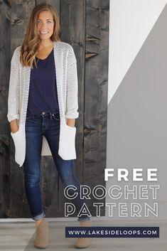 Crochet Baby Dress Free Pattern, Crochet Jacket Pattern, Top Pattern, Loom Knitting Scarf, Crochet Clothes, Crochet Sweaters, Crochet Jumpers, Crochet Tops, Ravelry