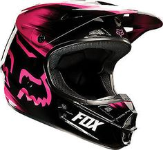 NEW 2015 FOX RACING V1 VANDAL MOTOCROSS OFFROAD DIRT BIKE HELMET PINK SIZE SMALL