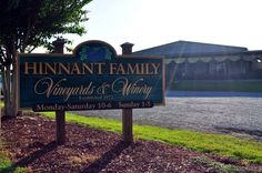 Hinnant Family Vineyards is located in Pine Level, NC. The father and son team of Willard and Bob Hinnant invite you to take a gander at the oldest and largest Muscadine vineyard in the state, sprawling 75 acres. In the tasting room sip on Carlos, Bob's wine of choice!