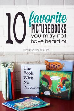 10 Favorite Picture Books You May Not Have Heard Of