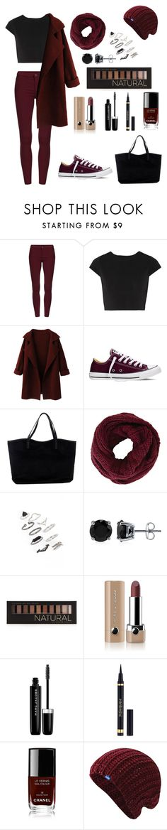 •black/red• by penguinx14 on Polyvore featuring Mode, Alice + Olivia, WithChic, Converse, ONLY, Topshop, BERRICLE, BCBGMAXAZRIA, Keds and Forever 21