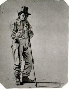 George Caleb Bingham - Study of a Fisherman_1
