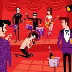 The Cramps, by Shag