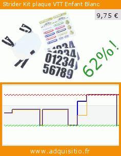Strider Kit plaque VTT Enfant Blanc (Sport). Réduction de 62%! Prix actuel 9,75 €, l'ancien prix était de 25,46 €. https://www.adquisitio.fr/strider/kit-plaque-vtt-enfant