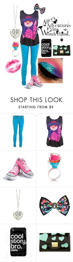 """""""Alice"""" by not-your-southern-bell ❤ liked on Polyvore featuring Jack Wills, Disney, Converse, Disney Couture, Sian Bostwick Jewellery and Case-Mate"""