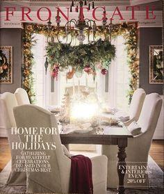 Frontgate November 2016 HOME FOR THE HOLIDAYS Catalog Source Book Inspiration    eBay