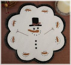 January+ThawQuick+&+Easy+Penny+Rug/Candle+Mat+by+pennylaneprims,+$4.50