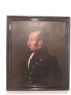 Antonio Salas  Perez  Quito Ecuador 1795-1860  Antonio Jose de Sucre  Ca. 1824 Oleo sobre tela.