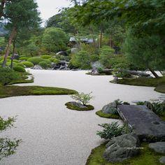 The Moss Garden, Adachi Museum of Art, Yasugi.