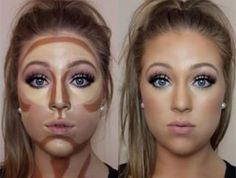 How to contour and highlight your face using cream products; Contouring and highlighting with makeup; Hacks, tips, tricks tutorials; Easy guide