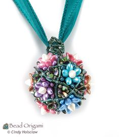 Succulent Topiary Pendant by Cindy Holsclaw