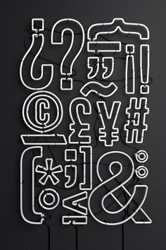Fantastic typographic artworks by Alejandro López Becerro, a motion graphics artist and designer from Madrid, Spain. More typography via 365 Awesome Designers Typography Served, Creative Typography, Typography Letters, Typography Design, Hand Lettering, Logo Design, Design Art, Interior Design, Tachisme