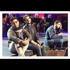 Piero and Ignazio smiling at the camera^^♥♥♥