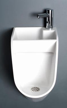 Can This Sink-Urinal Hybrid Get Men To Wash Their Hands? | Co.Design | business + design