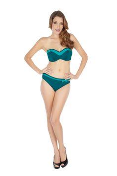 Isobel in Emerald fromPanache Swim AW13 #panacheswim http://www.panache-lingerie.com/gb/brands/Panache-Swimwear/