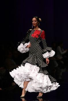 Traje de Flamenca - Aranega - Simof-2016