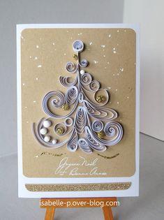 Bonne année et cartes en quilling