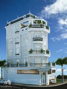 Architectural Design | Thiết kế nhà phố kiến trúc Tân cổ điển 5x15m