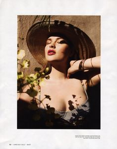 From the PMM Archives: Plus Size Model Harriet Coleman for BUST Magazine CLICK HERE: http://bit.ly/1poBEOM